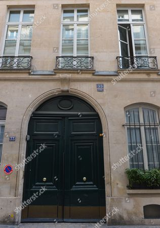 Building 33 rue de Beaune, in Paris, where Serge Gainsbourg wrote the song 'La Javanaise', at the time the home of Juliette Greco