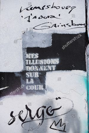 Editorial photo of Tributes to Serge Gainsbourg, Paris, France - 25 Feb 2016