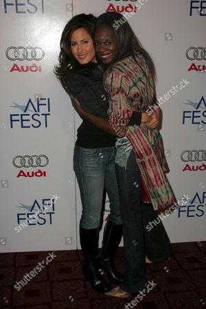 Kerri Kasem and Nzinga Blake