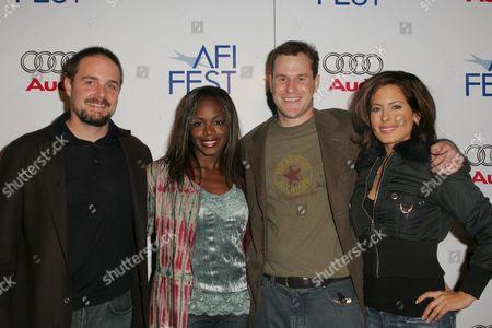 Zach Niles, Banker White , Kerri Kasem and Nzinga Blake