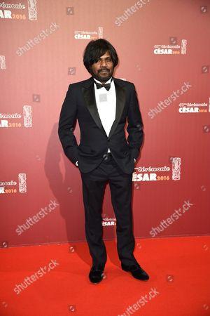 Editorial image of 41st Cesar Film Awards, Arrivals, Paris, France - 26 Feb 2016
