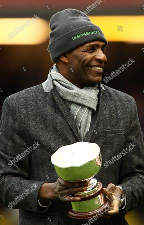 Luther Blissett  during the Barclays Premier League match between Watford and Bournemouth   played at Vicarage Road Stadium on 27th February 2016 in Watford