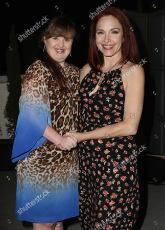 Stock Picture of Jamie Brewer, Amy Yasbeck