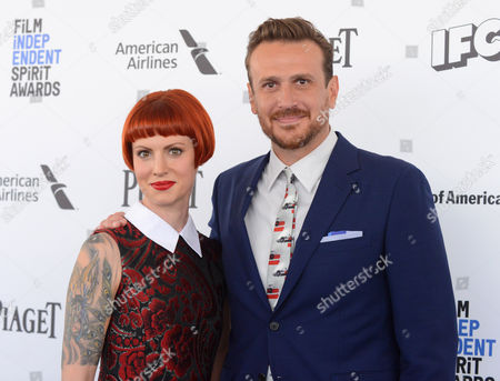 Jason Segel and girlfriend Alexis Mixter