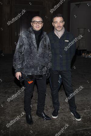 Tommaso Aquilani and Roberto Rimondi