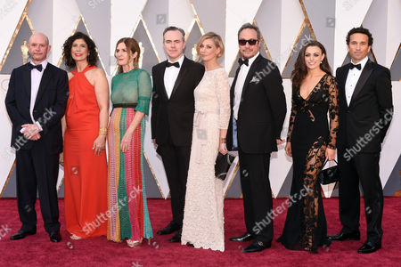 Editorial picture of 88th Annual Academy Awards, Arrivals, Los Angeles, America - 28 Feb 2016