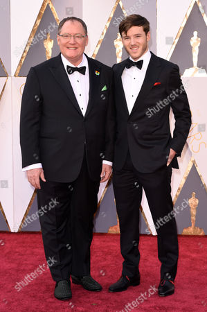 John Lasseter and son
