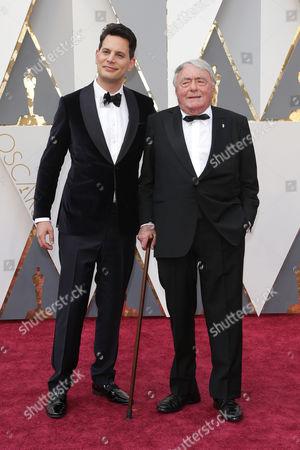Claude Lanzmann and Adam Benzine