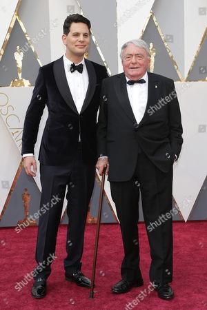 Stock Picture of Claude Lanzmann and Adam Benzine