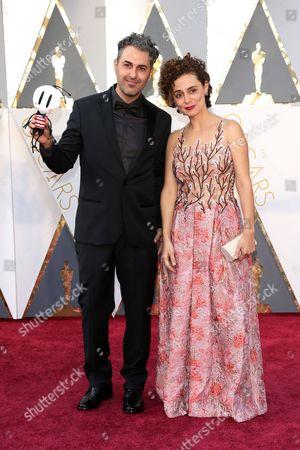 Stock Image of Ale Abreu and Priscilla Kellen