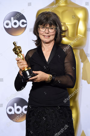 Stock Picture of Margaret Sixel - Achievement in Film Editing, Mad Max: Fury Road