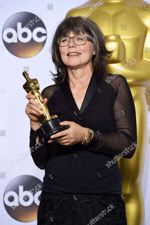 Stock Image of Margaret Sixel - Achievement in Film Editing, Mad Max: Fury Road