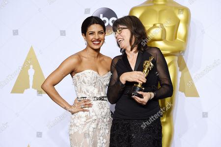 Priyanka Chopra and Margaret Sixel - Achievement in Film Editing, Mad Max: Fury Road