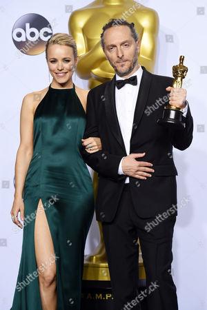 Rachel McAdams and Emmanuel Lubezki - Achievement in Cinematography, The Revenant