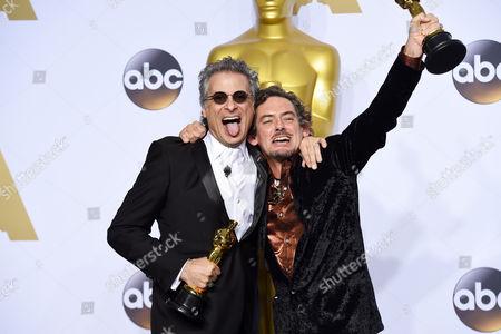 Mark Mangini and David White - Achievement in Sound Editing, Mad Max: Fury Road