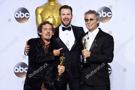 Chris Evans with Mark Mangini and David White - Achievement in Sound Editing, Mad Max: Fury Road