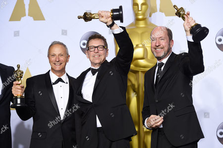 Paul Massey, Mark Taylor and Mac Ruth - Achievement in Sound Mixing, The Martian