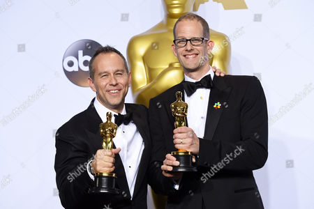 Jonas Rivera and Pete Docter - Best Animation, Inside Out