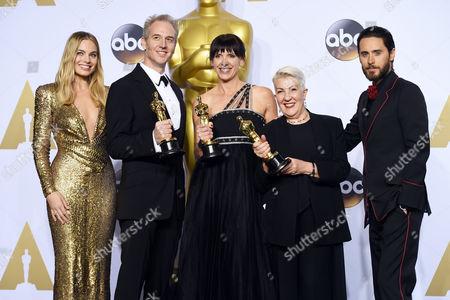 Margot Robbie, Lesley Vanderwalt, Elka Wardega, Damian Martin and Jared Leto - Achievement in Makeup and Hairstyling, Mad Max: Fury Road