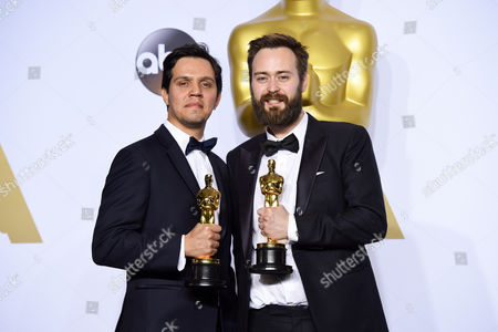 Stock Photo of Benjamin Cleary and Shan Christopher Ogilvie - Best Live Action Short Film, Stutterer