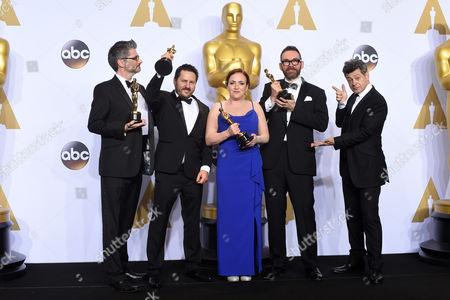 Andy Serkis with Mark Ardington, Paul Norris, Sara Bennett and Andrew Whitehurst - Achievement in Visual Effects, Ex Machina