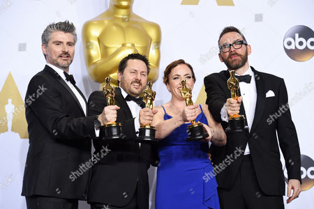 Mark Ardington, Paul Norris, Sara Bennett and Andrew Whitehurst - Achievement in Visual Effects, Ex Machina
