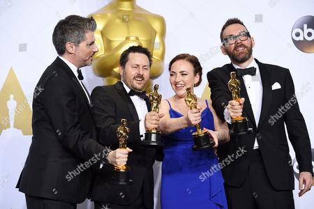 Mark Ardington, Paul Norris, Sara Bennett and Andrew Whitehurst - Achievement in Visual Effects, Ex Machina