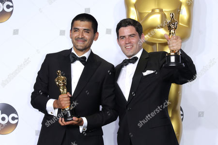 Gabriel Osorio Vargas and Pato Escala Pierart - Best Animated Short Film, Bear Story