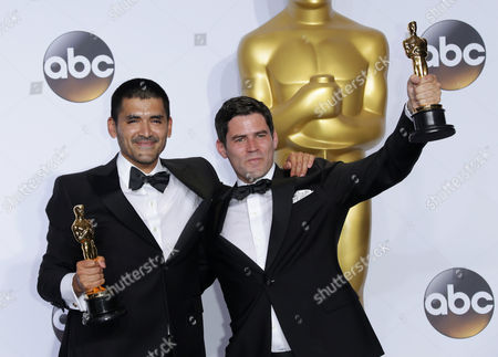 Stock Image of Gabriel Osorio Vargas and Pato Escala Pierart - Best Animated Short Film, Bear Story