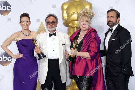 Tina Fey, Colin Gibson, Lisa Thompson and Steve Carell - Achievement in Production Design, Mad Max: Fury Road