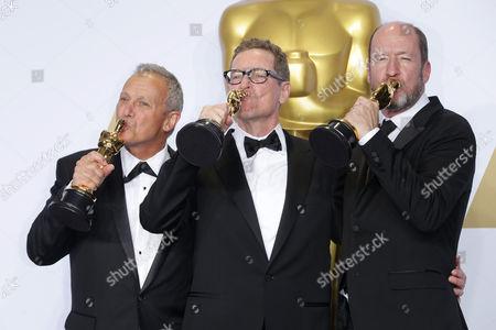 Editorial photo of 88th Annual Academy Awards, Press Room, Los Angeles, America - 28 Feb 2016