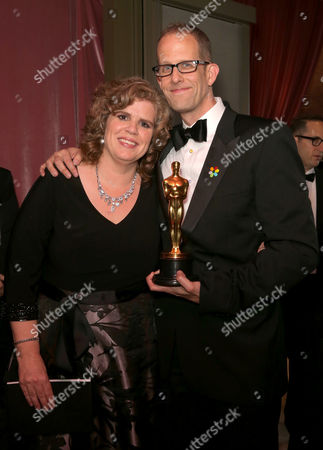 Pete Docter and wife Amanda Docter