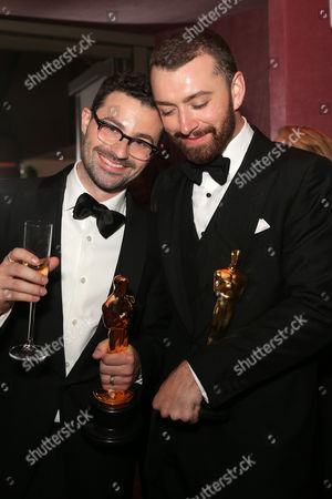 Stock Image of Jimmy Napes and Sam Smith