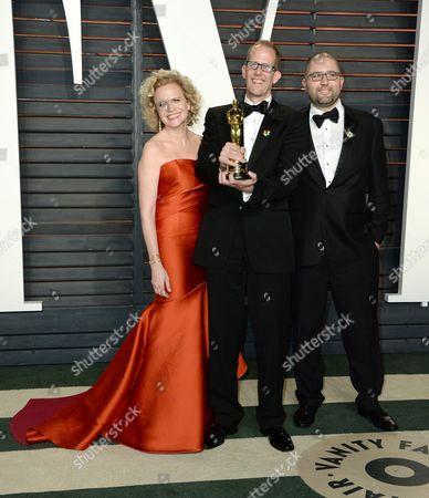 Meg LeFauve, Pete Docter and guest