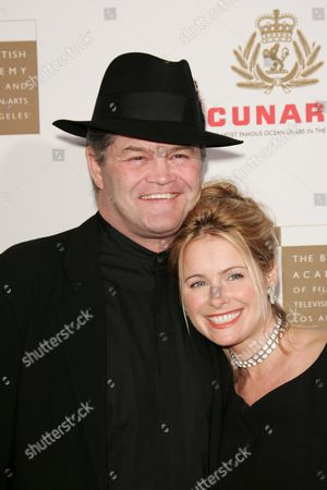 Stock Image of Micky Dolenz and daughter Amy Dolenz