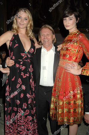 Jodie Kidd, Steve Sharp and Erin O'Connor
