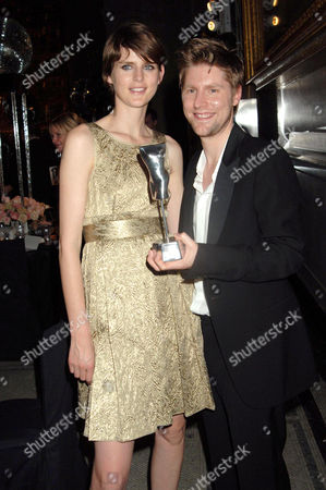 Stella Tennant and Christopher Bailey