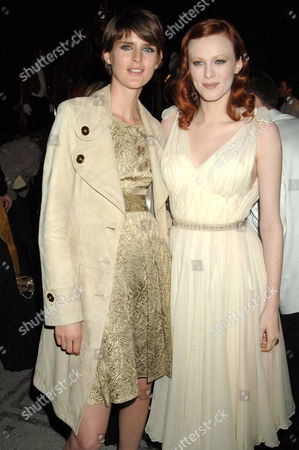 Stella Tennant and Karen Elson