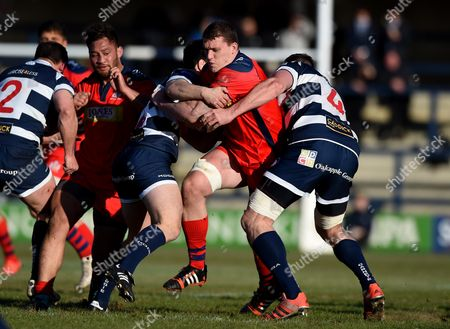 Editorial picture of Yorkshire Carnegie v Bristol Rugby, Great Britain - 28 Feb 2016
