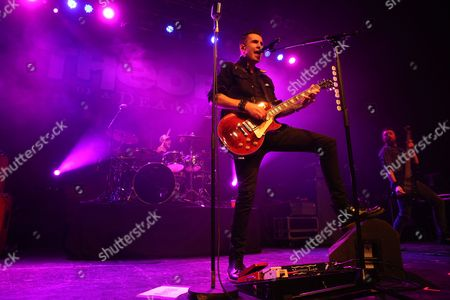 Stock Photo of Theory of a Deadman - Theory of a Deadman - Joey Dandeneau, Tyler Connolly and Dean Back
