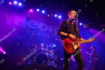 Editorial picture of Theory of a Deadman in concert at the O2 ABC, Glasgow, Scotland - 28 Feb 2016