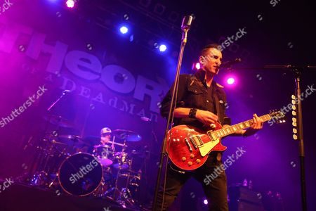 Stock Image of Theory of a Deadman - Joey Dandeneau and Tyler Connolly