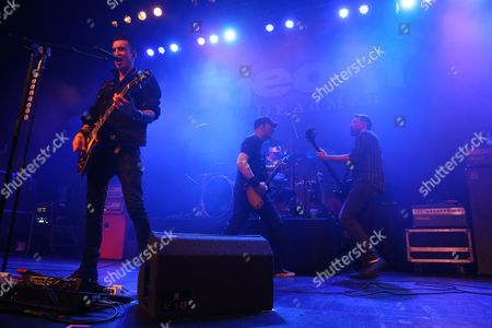 Stock Picture of Theory of a Deadman - Tyler Connolly, Dave Brenner, Joey Dandeneau and Dean Back