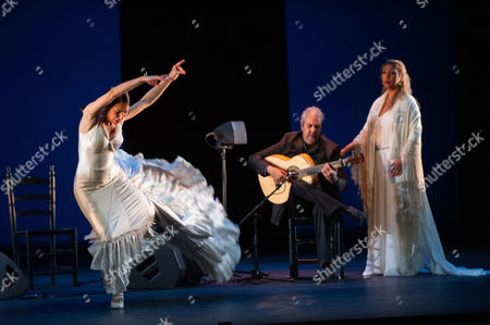 Ana Morales, Miguel Angel Cortes, Marina Heredia