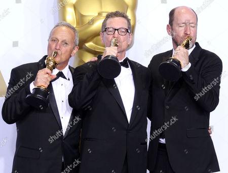Ben Osmo, Greg Rudloff, Chris Jenkins