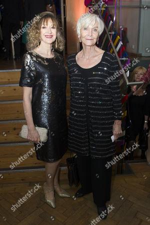 Julie Legrand and Sheila Hancock