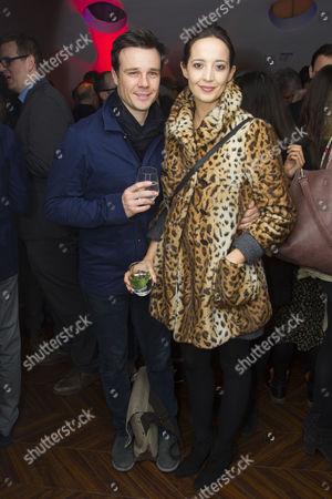 Rupert Evans and Olivia Bennett