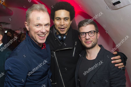Gary Kemp, John Macmillan and Jamie Lloyd (Director)