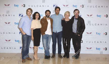 Jaime Olias, Silvia Abril, Miquel Fernandez, Jose Skaf, Ana Wagener and Gines Garcia Millan