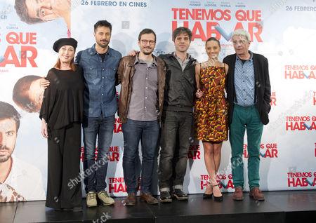 Editorial image of 'Tenemos que hablar' film photocall, Madrid, Spain - 24 Feb 2016